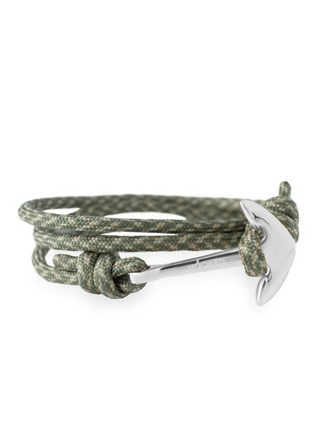 Hook silver paracord